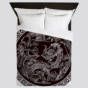 Oriental Art Queen Duvet