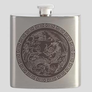 Oriental Art Flask
