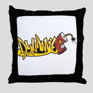 Dynamite Throw Pillow