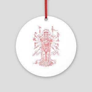 Goddess Ornament (Round)