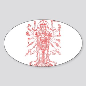 Goddess Sticker (Oval)