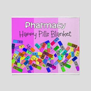 pharmacy happy pills blanket PINKs Stadium Bl