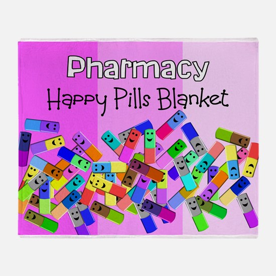 pharmacy happy pills blanket PINKs.PNG Stadium Bl