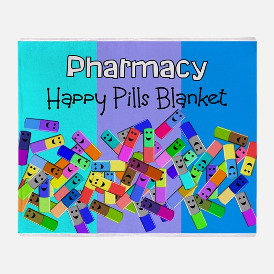 pharmacy happy pills blanket BLUES.PNG Stadium Bl