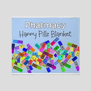 pharmacy happy pills blanket BLUE Stadium Bla