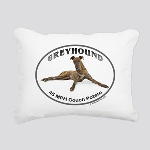 GVV Greyhound Couch Potato Rectangular Canvas Pill