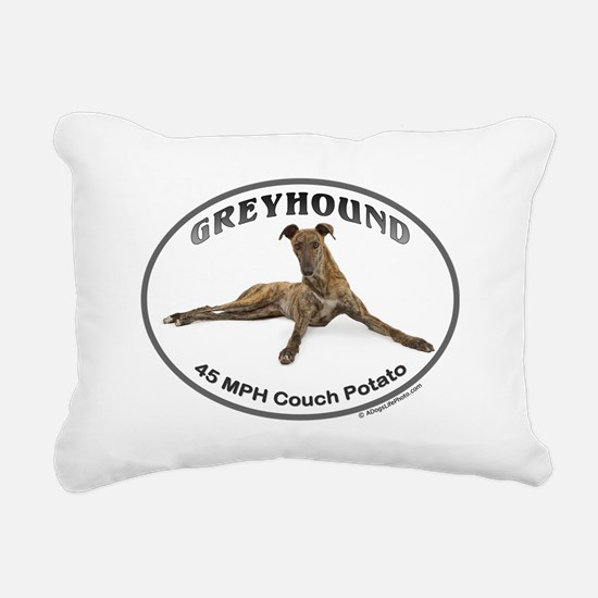 GVV Greyhound Couch Potato Rectangular Canvas Pill