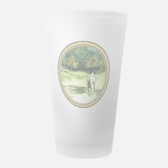 horse-frame-1A-TRANSP.png Frosted Drinking Glass