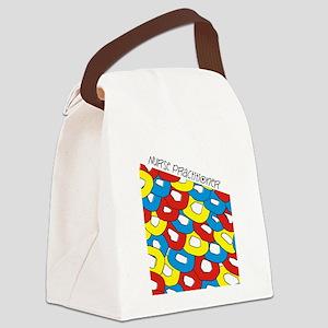 nurse practitioner CIRCLES 3 Canvas Lunch Bag