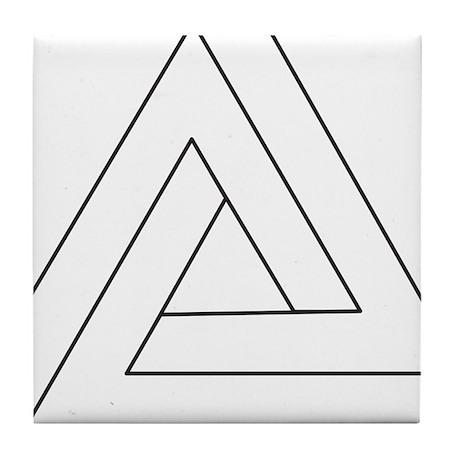 Impossible Triangle Tile Coaster