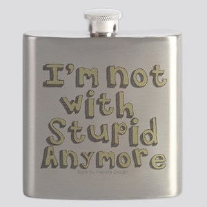 Im not with Stupid anymore Flask