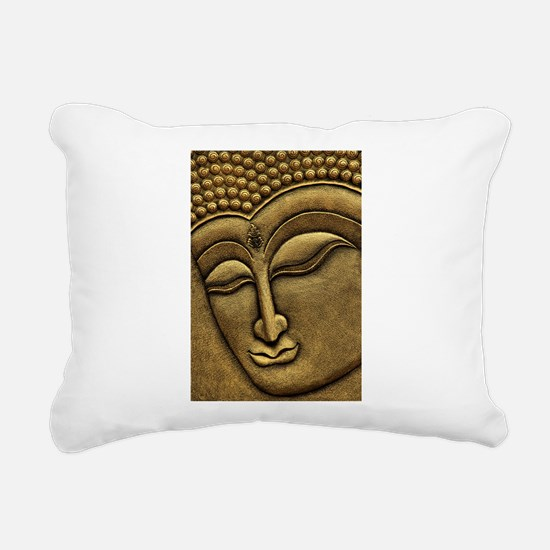 Buddha Rectangular Canvas Pillow