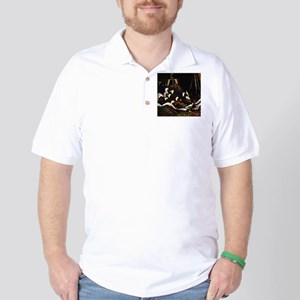 Scotland Bagpipes Golf Shirt