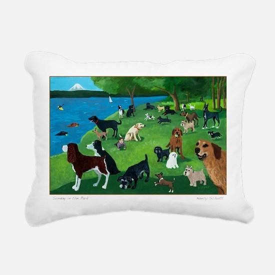 Cute Art Rectangular Canvas Pillow