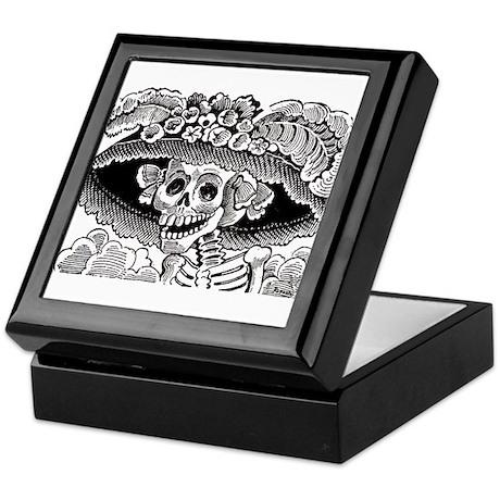 La Calavera Catrina Keepsake Box