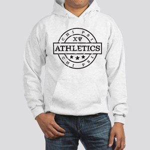 Chi Psi Athletics Personalized Hooded Sweatshirt