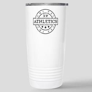 Chi Psi Athletics 16 oz Stainless Steel Travel Mug