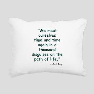 Path of Life Rectangular Canvas Pillow