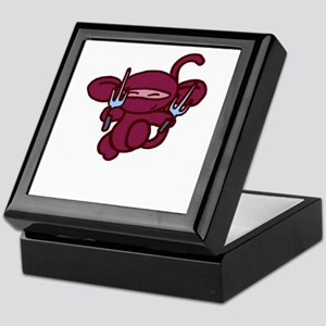 Red Sai Minky Keepsake Box