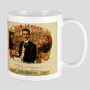 Our Leader Cigar Label Mug
