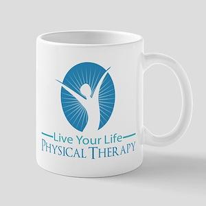 Live Your Life Physical Therapy Mug