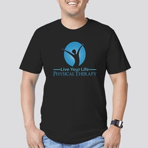 Live Your Life Physical Therapy Men's Fitted T-Shi