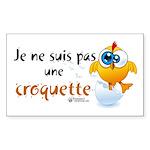 not-nuggets-stick-h-fr-0 Sticker (Rectangle 50 pk)