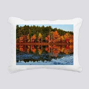 Fall Landscape Rectangular Canvas Pillow