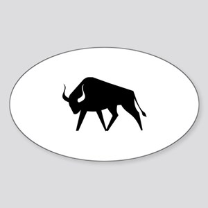 Bull Sticker (Oval)