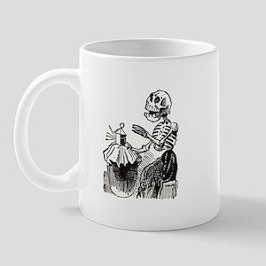 Sewing Calavera Mug