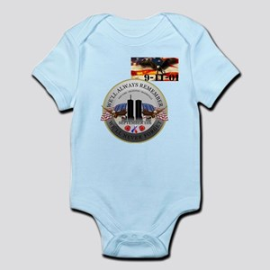 May We Never Forget Infant Bodysuit