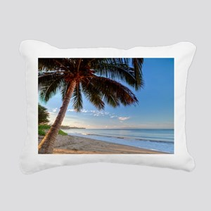 Paradise Maui Rectangular Canvas Pillow
