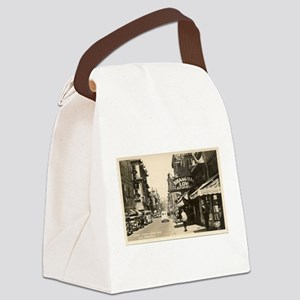 Chinatown San Francisco Canvas Lunch Bag