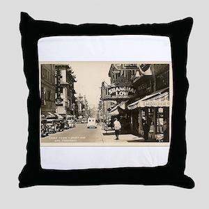 Chinatown San Francisco Throw Pillow