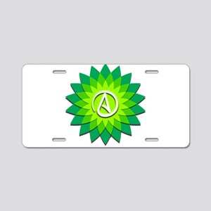 Atheist Flower Aluminum License Plate
