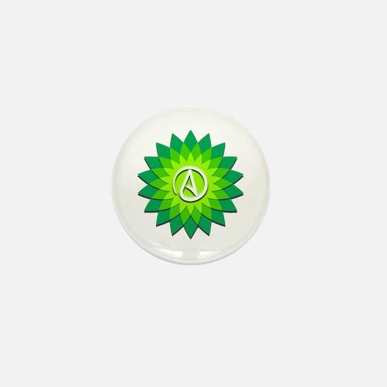 Atheist Flower Mini Button
