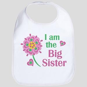 I am the Big Sister Baby Bib