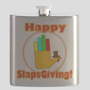 Happy Slaps Giving Flask