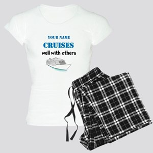 Cruises Well With Others (personalizable) Pajamas