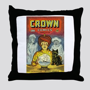 Crown Comics #2 Throw Pillow