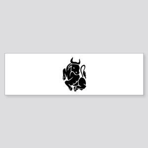 Bull Sticker (Bumper)