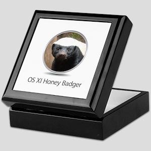 Operating System Honey Badger Keepsake Box