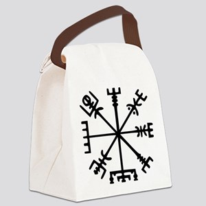 Viking Compass : Vegvisir Canvas Lunch Bag