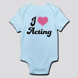 I Love Acting Infant Bodysuit