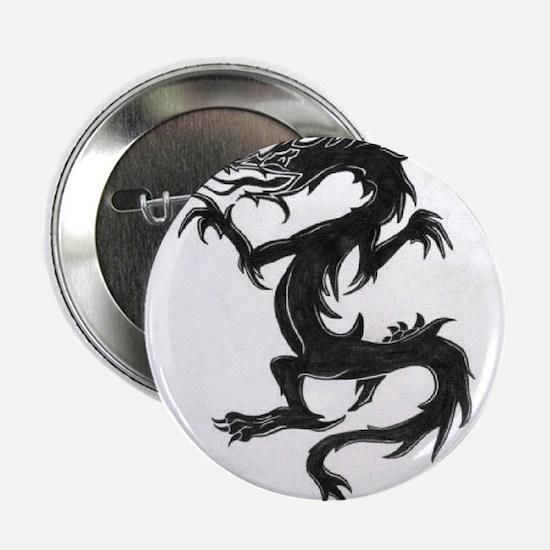 """Black dragon 2.25"""" Button"""
