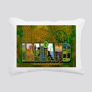 Celtic Ireland Rectangular Canvas Pillow