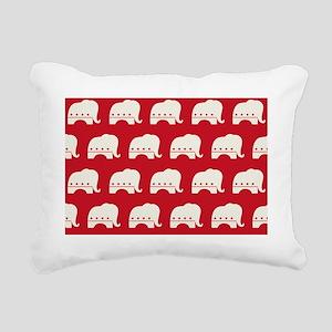 Republican Party Rectangular Canvas Pillow
