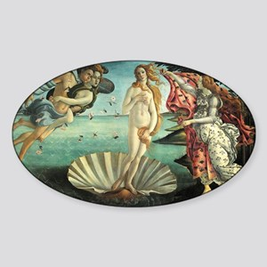 Birth of Venus by Botticelli Sticker (Oval)