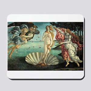 Birth of Venus by Botticelli Mousepad
