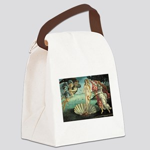 Birth of Venus by Botticelli Canvas Lunch Bag